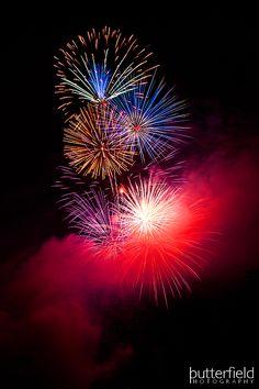 Sierra Vista, Arizona Fireworks Butterfield Photography