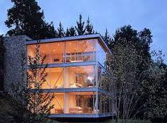 Resultado de imagen para casas de cristal y acero