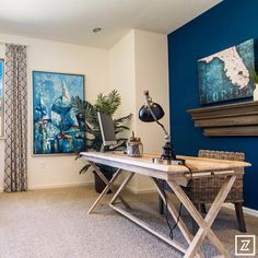 Volusia Building Industry Association Parade of Homes - KB Homes Work Room.jpg