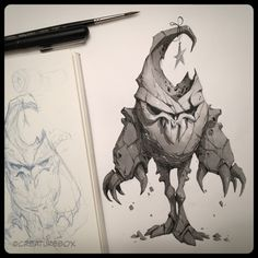 CreatureBox • Inktober Day 22: Turk decided he wanted to bring a...