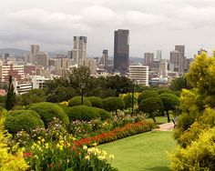 View of Pretoria as seen from the Union Building Gardens, Gauteng - South Africa Travel Around The World, Around The Worlds, South Africa Tours, Namibia, Out Of Africa, Pretoria, Africa Travel, Countries Of The World, The Good Place
