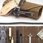 E.H. Works Mopha Bike Tool Roll is a fancy fixie fixer