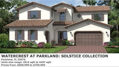 Laurel by Standard Pacific Homes at Watercrest At Parkland - Solstice Collection
