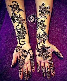 Mehndi by Neeta Desai Sharma. Based in Northern California and is willing to travel! Love her work! #indianwedding #mehndi #henna