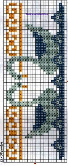 Cross Stitch Tree, Cross Stitch Books, Cross Stitch Borders, Cross Stitch Charts, Cross Stitching, Cross Stitch Embroidery, Cross Stitch Patterns, Fair Isle Knitting Patterns, Knitting Charts