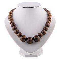 men/'swomen/'s jewellery wooden beads Ethnic necklace