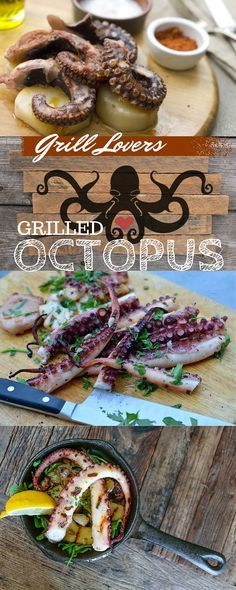 PrintGrill Lovers' Grilled Octopus Recipe Ingredients• 3 pounds clean octopus • 1 bay leaf • 4 thyme branches • 20 peppercorns • 1-teaspoon salt, plus to taste • 1 head garlic, cut in half along it equator • 3 lemons • 3 tablespoons extra virgin olive oil • Freshly ground black pepper to taste •[...]