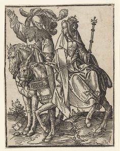 Willem IV en Margaretha, Jacob Cornelisz. van Oostsanen, 1518