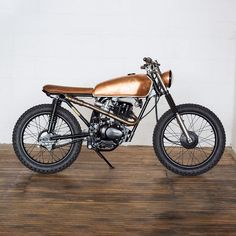 Honda CG125 'The Conductress' by Foundry Motorcycle in collaboration with Hedon Workshop