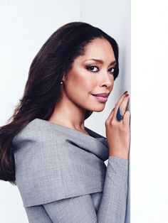 8 Questions with . Autumn Fashion Work, Work Fashion, Female Celebrities, Celebs, Jessica Pearson, Gina Torres, Suits Tv Shows, Girls Run The World, Luxury Clothing