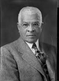 """Charles Clinton Spaulding (August 1, 1874 – August 1, 1952) led the North Carolina Mutual Life Insurance Company from 1900 to 1952, a span during which North Carolina Mutual was the largest business owned by African-Americans. Spaulding was largely responsible for the success of North Carolina Mutual, a firm that made Durham known as """"the Black Wall Street."""" North Carolina Mutual was America's largest black-owned business, with assets of over US$ 40 million at his death."""