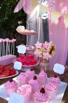 Barbie Birthday Party, Picnic Birthday, Unicorn Birthday Parties, Birthday Party Themes, Garden Birthday, Princess Birthday, Princess Party, 5th Birthday, Birthday Ideas