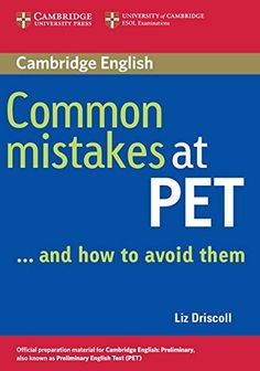 Existencias: Common mistakes at KET_ and how to avoid them English Exam, English Fun, English Book, Learn English, Cambridge Test, Cambridge English, Esl Lessons, English Lessons, Test Preparation