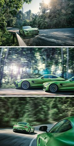 Characteristic styling, motorsport technology and the optimum weight distribution: The Mercedes-AMG GT R has everything you would expect from an authentic sports car. [Combined fuel consumption: 11.4 l/100 km | combined CO2 emission 259 g/km |  http://mb4.me/efficiency_statement]