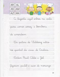 Atividades de Caligrafia Alfabetização Infantil - Mundinho da Criança - Atividades para Educação Infantil