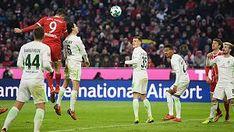 BL17/18 - 19.Sptg.: B.München-W.Bremwn 4:2 -- 4:2 gegen Bremen: FC Bayern feiert Doppelpack-Duo: Müller und Lewandowski sichern Münchner Sieg