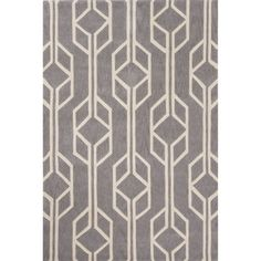 @Overstock - Hand-Tufted Geometric Pattern Grey/Grey (5' x 7'6) AreaRug - Hand-tufted structure with a perfect balance of intense colors. The pattern is eye-catching and impressive. A perfect piece to give a touch up to already existing classy interiors. Catch up with this ... http://www.overstock.com/Home-Garden/Hand-Tufted-Geometric-Pattern-Grey-Grey-5-x-76-AreaRug/10028575/product.html?CID=214117 $225.99