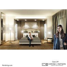 CORFONE+PARTNERS - Interior design Bedroom - LAV HOUSE