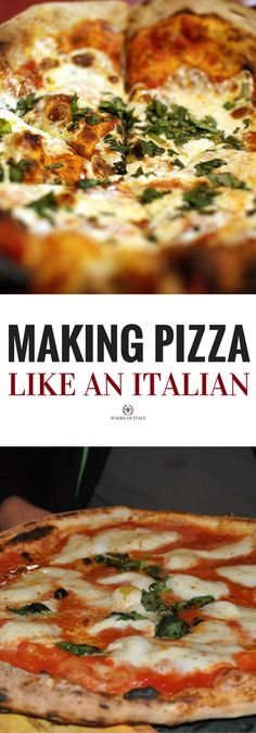 How To Make Easy Pizza At Home? Just see our video website and start making awesome pizza at home like the restaurant. it has pizza making the video tutorial. Italian Dishes, Italian Recipes, Italian Cooking, Calzone, Stromboli, Cooking Temp For Beef, Cooking Turkey, Gorgonzola Pizza, Italian Pizza Dough Recipe