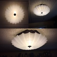 Mid Century Modern Moe Semi Flush Mount Ceiling Light, Thomas Industries by…