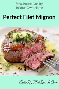 Quick Beef Recipes, Vegan Recipes Easy, Meat Recipes, Delicious Recipes, Perfect Filet Mignon, Beef Dishes, Popular Recipes, Main Dishes, Yummy Food