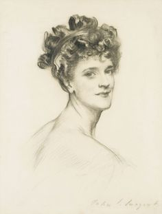 """""""Alice, Lady Lowther"""" by John Singer Sargent"""