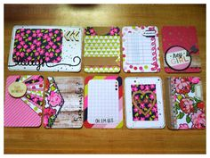 Handmade journaling cards perfect for Project by CodisCustomCards, $8.50