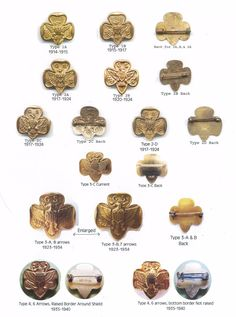 Evolution of the Traditional Girl Scout Pins