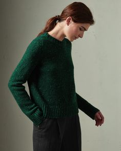 Cashmere Wool Neat Sweater | TOAST