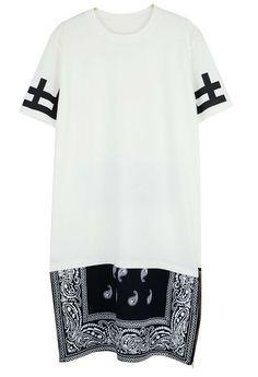DESIST Bandana Shirt Dress (2 colors available)