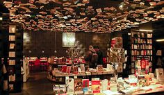 Cook & Book, uma das livrarias mais saborosas no mundo. Bruxelas, Bélgica. Foto divulgação. Clique na foto para saber mais. Viagem, compras