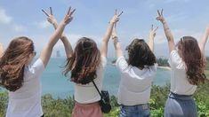 Ella/Maddie/Zy/Rhi💕 Partners in crime❤ Foto Best Friend, Best Friend Photos, Best Friend Goals, Korean Girl Photo, Cute Korean Girl, Ulzzang Korean Girl, Ulzzang Couple, Ullzang Girls, Korean Best Friends