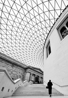 Great Court at the British Museum, Londres, Norman Foster Architecture Unique, Museum Architecture, London Architecture, British Architecture, Norman Foster, British Museum, Dune Art, Fotografia Macro, London Photography
