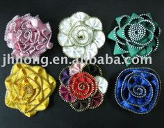 zipper flower | Zipper Flowers Photo, Detailed about Zipper Flowers Picture on Alibaba ...
