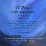 awesome INTERNATIONAL – Album – $1.78 – 33bowls Tibetan Singing Bowls