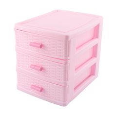 Home Plastic 3 Layers Cosmetics Lipstick Hairpin Storage Box Case Pink, Size: 17 x x inch x inch x 6 inch(Large*W*H) Study Room Decor, Room Ideas Bedroom, Home Bedroom, Bedroom Decor, Bedrooms, Cute Room Ideas, Cute Room Decor, Pastel Room, Pink Room