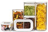 ROSTI MEPAL. KOOK TIME PRODUCTS S.L. Avda. Científic Avel.li Corma, 25, A-13. 12593 Moncofa. Castelló.Tel. 96.3904177. Los botes y cajas Modula de Rosti Mepal son ideales para almacenar alimentos secos. El tamaño y volumen han sido diseñados específicamente para adaptarse a productos con un empaquetado estándar y para encajar en cajones de cocina, armarios y refrigeradores.