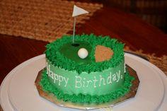Golf cake - another one Jessica DeLuna!!