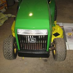 Learn how to restore a rusty ride-on Metal Projects, Garden Projects, John Deere Garden Tractors, Front Grill, Riding Mower, Local Hardware Store, Sanding Block, Rusty Metal, Painters Tape