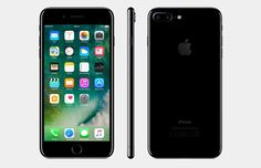 Apple iPhone 7 Plus - - Black Smartphone Iphone 7 Plus, Iphone 4s, Apple Iphone, Cored Apple, Kit Main Libre, Technology Wallpaper, Apple Model, Phone Hacks, Online Shopping
