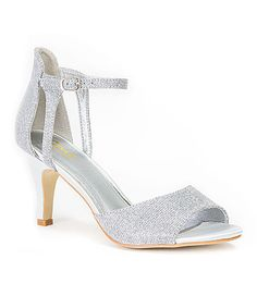 Another great find on #zulily! Silver Alicia Sandal #zulilyfinds