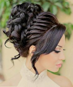 45 Chic Quinceanera Hairstyles — Best Styles for Your Celebration!-Quinceanera hairstyles will help you feel like a princess on this special day. After all, it's a once in a lifetime event and you want to look perfect! Quince Hairstyles, Best Wedding Hairstyles, Up Hairstyles, Pretty Hairstyles, Braided Hairstyles, Braided Updo, Celebrity Hairstyles, Hairstyle Ideas, Stylish Hairstyles