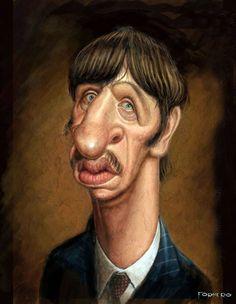 Ringo Starr by Walter Fornero