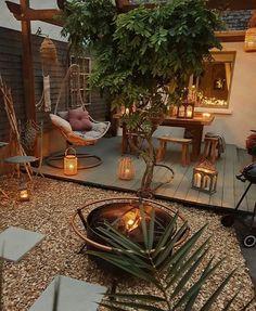 Backyard Patio Designs, Small Backyard Landscaping, Outdoor Rooms, Outdoor Living, Outdoor Decor, Outside Living, Backyard Makeover, Backyards, Porches