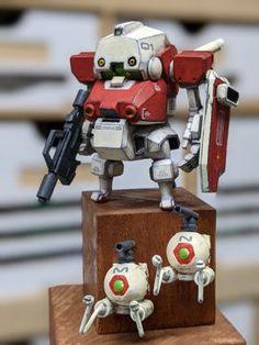 Robot Cute, Mobile App Games, Robot Design, Anime Dolls, Mechanical Design, Custom Action Figures, Designer Toys, Doll Toys, Gundam