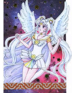 Sailor Cosmos by KaoriKonran on DeviantArt Sailor Moon Manga, Sailor Neptune, Sailor Venus, Xayah And Rakan, Black Butler Characters, Sailor Moon Aesthetic, Kids Background, Anime Nerd, Sailor Moon Crystal
