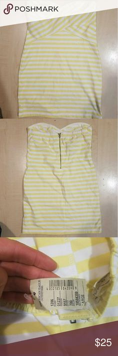 NWT American eagle strapless sundress New with tags American Eagle Outfitters Dresses Strapless