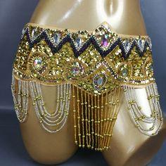 Women's Belly Dance Costume Hip Scarf Wrap bellydancing beads tassel Belt GOLD | eBay Belly Dancing Videos, Hand Chain, Metal Belt, Belly Dance Costumes, Dance Outfits, Costume Accessories, Dance Wear, Fancy Dress, Scarf Wrap