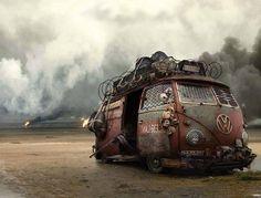 Post Apocalyptic Bus