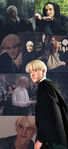 Watch Harry Potter Movies, Harry Potter Actors, Draco And Hermione, Harry Potter Draco Malfoy, Drago Malfoy, Draco Malfoy Aesthetic, Ariana Grande Photoshoot, Slytherin Harry Potter, Tom Felton